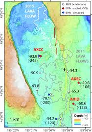 Uncw Map Inflation Predictable Behavior And Co Eruption Deformation At