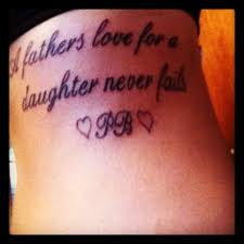 rip tattoo fail i love this would change the saying a daughters love for her