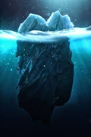 icebergs looks like watercolor paintings