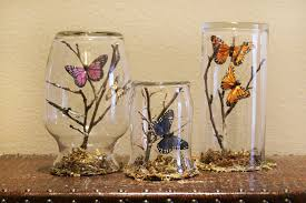 turn empty jars into a butterfly oasis