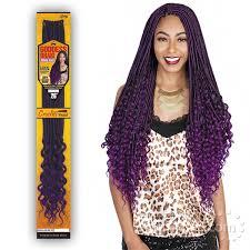 pre braided crochet hair crochet braid synthetic braid freetress sensationnel snap