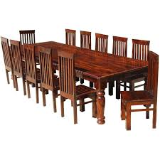 furniture solid wood large dining room table u0026 chair set