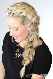 freeze braids hairstyles the elsa braid day 6 twist me pretty