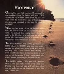 footprints in the sand gifts footprints in the sand this is one of my favourite quotes poems