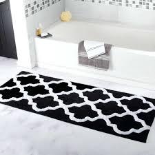 Black And White Bathroom Rugs Black Bathroom Rugs Complete Ideas Exle