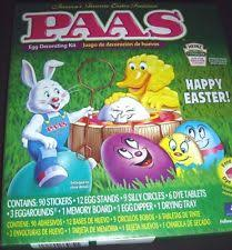 paas easter egg dye easter and decorative egg ebay