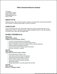 high resumes with no job experience exles of resumes with no job experience