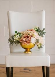 Tall Glass Vase Centerpiece Mercury Glass Vase In Gold Floral And Wedding Centerpieces