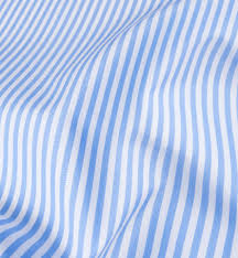 140s light blue wrinkle resistant bengal stripe shirts by proper cloth