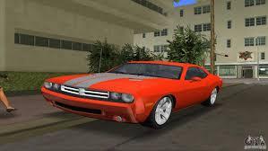 Dodge Challenger Mods - dodge challenger for gta vice city
