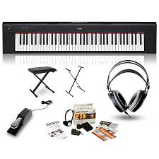 Proline Keyboard Bench Yamaha Np32 Portable Keyboard With Headphones Bench Stand And