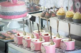 baby showers ideas pink gray princess girl themed baby shower party planning ideas