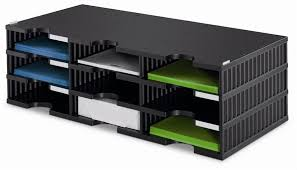 Desk Mail Organizer Multidoctrio Letter Tray Sorter Desktop Accessory Storage Organizer