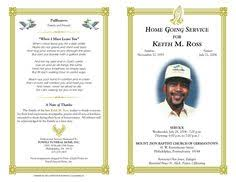 funeral program template free funeral program template microsoft word free