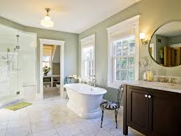 Bathroom Remodeling Woodland Hills Benjamin Moore Guilford Green For A Transitional Bathroom With A