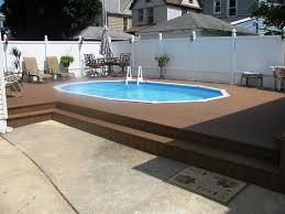 best semi inground pools ideas