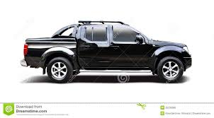 black nissan black nissan navara stock photo image of isolated navara 55236380
