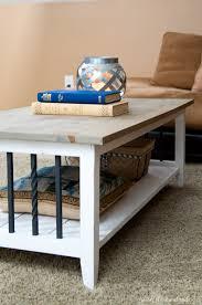 farmhouse coffee table build plans a houseful of handmade