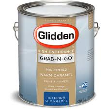 glidden high endurance grab n go interior paint and primer semi