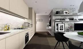 cool ways to organize one wall kitchen design one wall kitchen