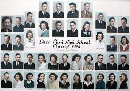 school photo album dphs grads 1913 43 c d p h s clayton and deer park historical