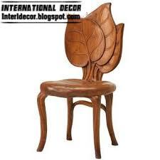 Wooden Armchair Designs Interior Design 2014 Modern Flower Chairs Styles Colors 2013