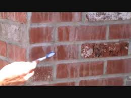 Cleaning Bricks On Fireplace by How To Clean Concrete Film From Brick Wall Youtube
