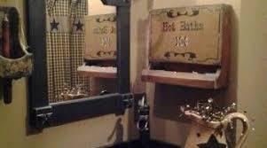 primitive country bathroom ideas lush primitive country bathroom decor ideas adorable primitive