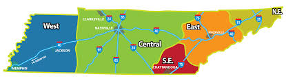 Tennessee Highway Map by Tennessee Rv Parks And Campgrounds Camp In Tennessee