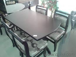 Used Dining Tables Online In Hyderabad Home Office Furniture - Glass top dining table hyderabad