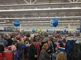 thanksgiving shoppers mob walmart scioto post