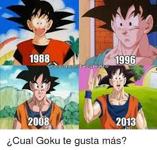Goku Memes - 1988 2008 1996 2013 30 2gtkai 眇cual goku te gusta m磧s goku meme