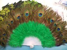 extra large feather fans catherine d lish with the world s largest feather fans nobf