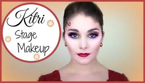 professional theatrical makeup kitri paquita stage makeup tutorial kathryn