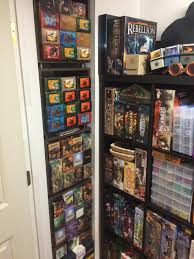 game room storage mtg decks in cubes from container store my