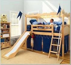 Bunk Bed With Slide Ikea Ikea For Kids On Pinterest Ikea Hackers - Ikea kid bunk bed