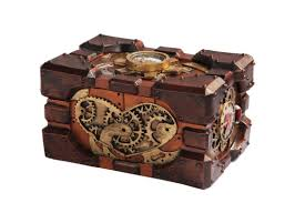 pressure gauge box steampunk gifts fairyglen com