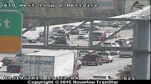 Houston Transtar Traffic Map Northbound Lanes Of 610 W Loop At Bellaire Reopens After