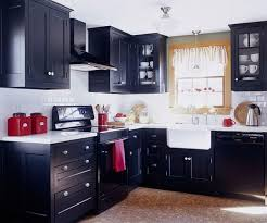 Red Black White Kitchen - black and white kitchen design with red accessories outofhome