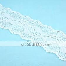 wholesale lace ribbon wholesale stretch white lace ribbon 7cm lc101211089