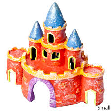 glofish castle aquarium ornaments petsolutions