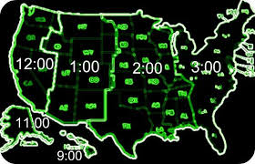 usa time zone map est time zone map of time zones with states my printable maps