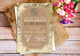 travel themed baby shower travel theme baby shower invitations travel baby shower