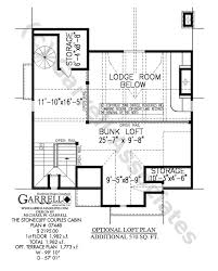 cabin plan stonecliff couples cabins house plans by garrell associates inc