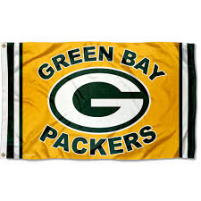 Green Bay Packers Flags Bay Packers Green And Gold Nfl Flag Tailgating Banner