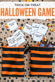 Halloween Printable Games Tricks Or Treats A Really Simple U0026 Fun Halloween Game U0026 Printable