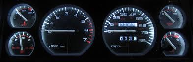 jeep cherokee xj 1984 1996 white led speedometer gauge u0026 dash