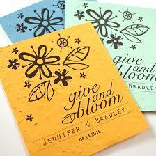 plantable celebration grow favor give plantable seed wedding