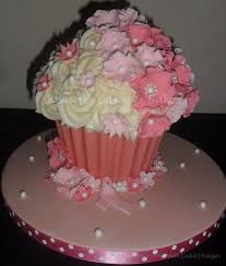 Easy Giant Cupcake Decorating Ideas 17 Best Cakes Giant Cupcakes Images On Pinterest Giant Cupcake