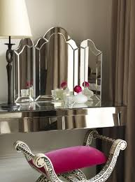 Folding Vanity Table Trifold Dressing Table Mirror Design Ideas